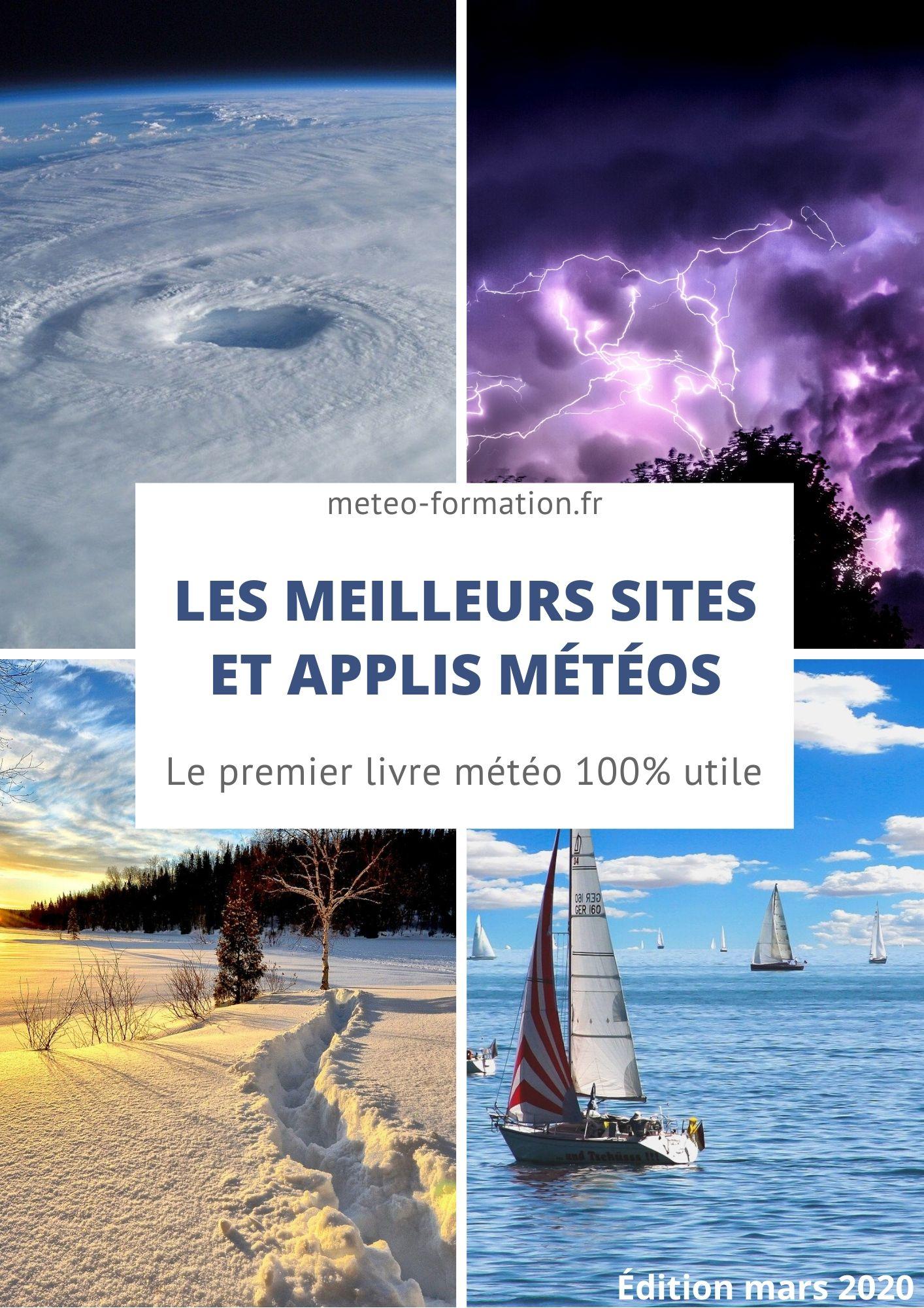 le livre météo sur les meilleurs sites et applis météos