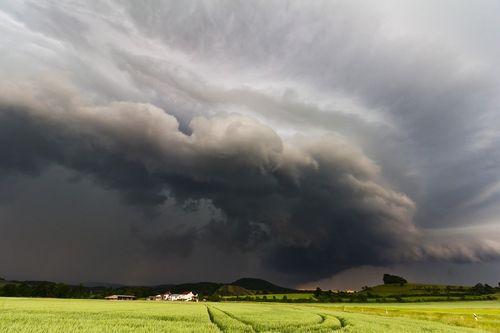 orage arcus pour cours de météo